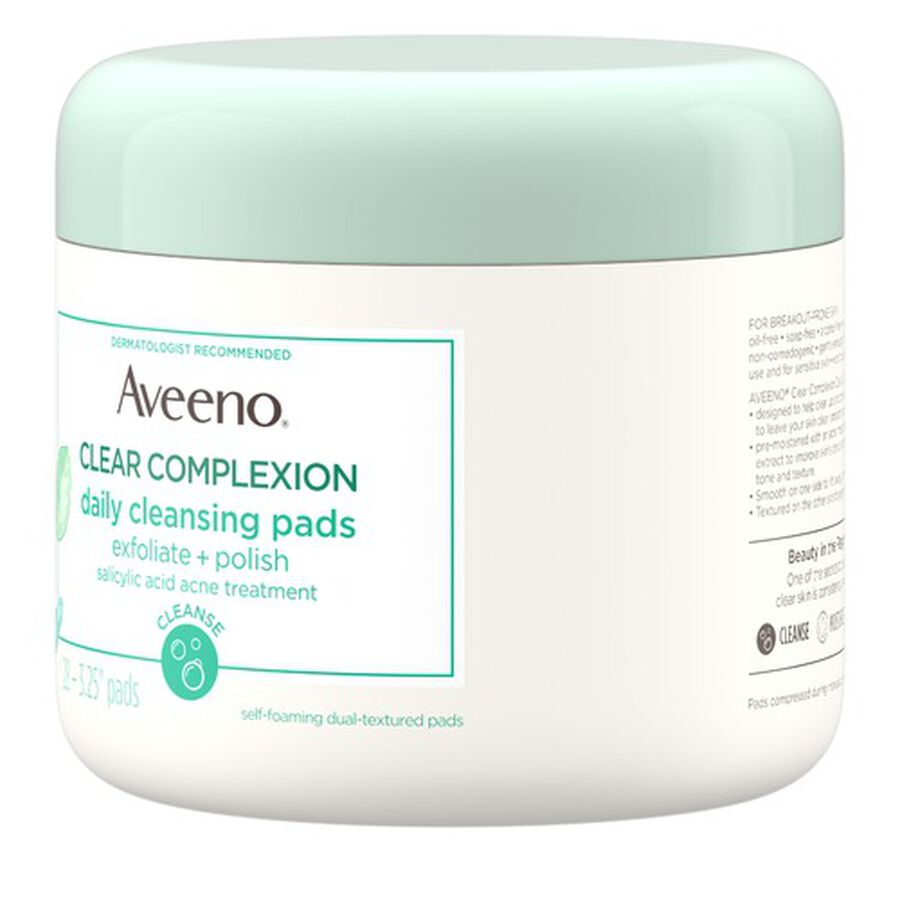 Aveeno Clear Complexion Daily Cleansing Pads - 28ct, , large image number 5