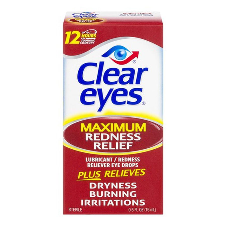 Clear Eyes Maximum Itchy Eye Relief, .5 oz, , large image number 0