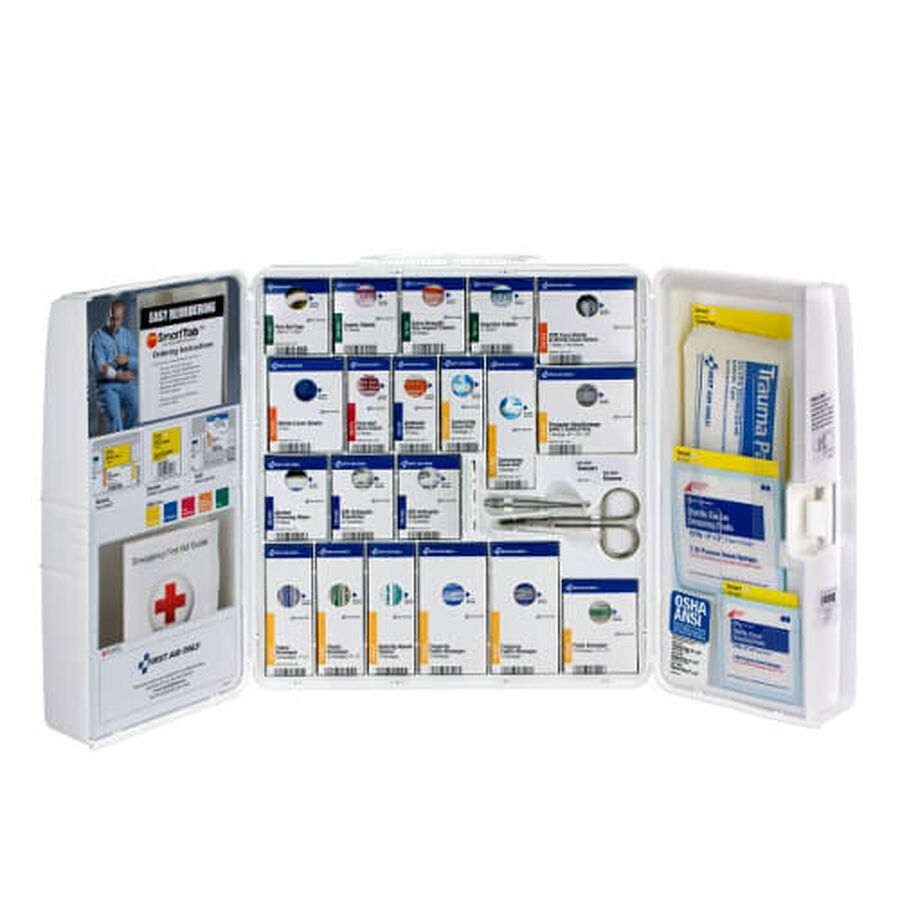 Large Smart-Compliance First Aid Cabinet, 275 pcs, , large image number 2