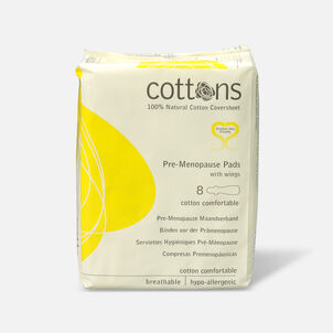 Cottons Pre-Menopause Pads, 8ct