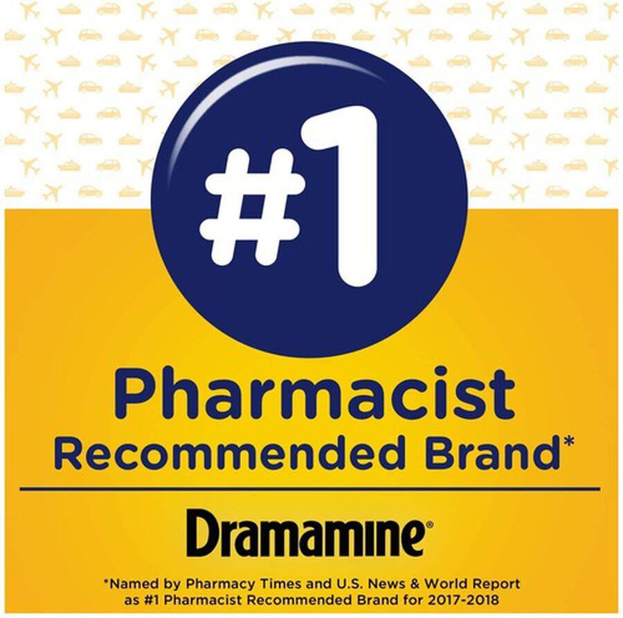 Dramamine Motion Sickness Relief, Original Formula, 12 ct, , large image number 3