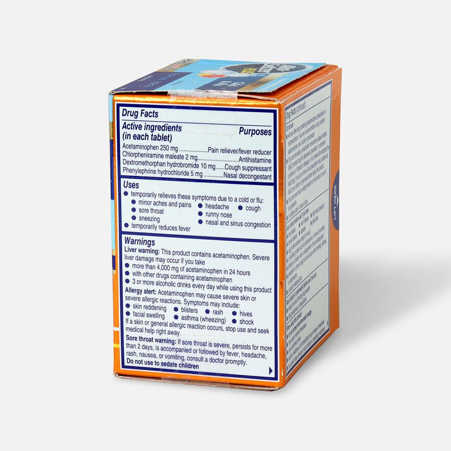 Alka-Seltzer Plus Severe Cold & Flu Powerfast Fizz Tablets, Citrus - 20 ct, , large image number 3