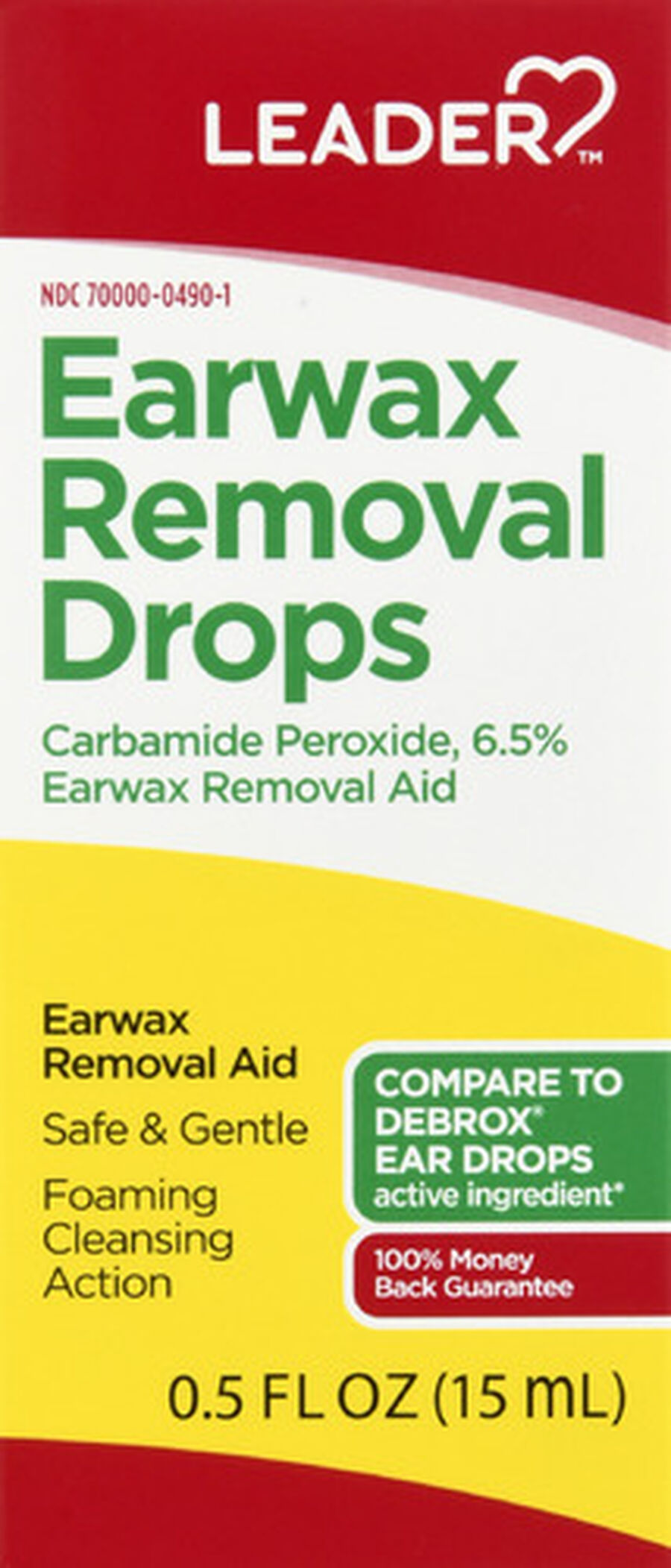LEADER™ Ear Wax Removal Drops 0.5oz, , large image number 0