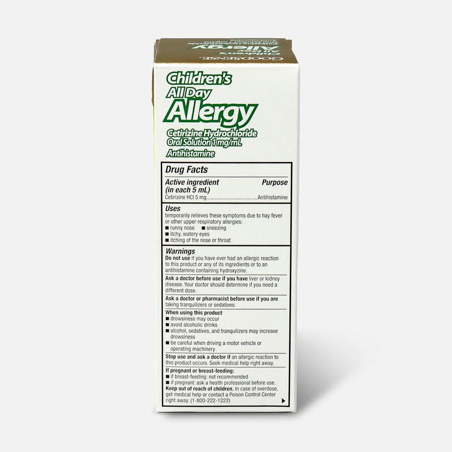 GoodSense® Child All Day Allergy Cetirizine 24-Hr Grape Flavor 4 fl oz , , large image number 1