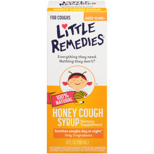 Little Colds Honey Cough Syrup, 4 oz