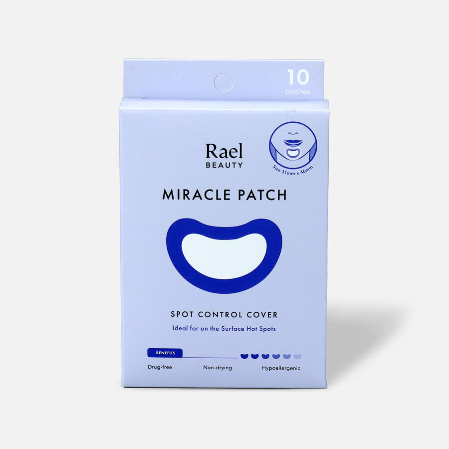 Rael Beauty Miracle Patch Spot Control Cover - 10ct, , large image number 0