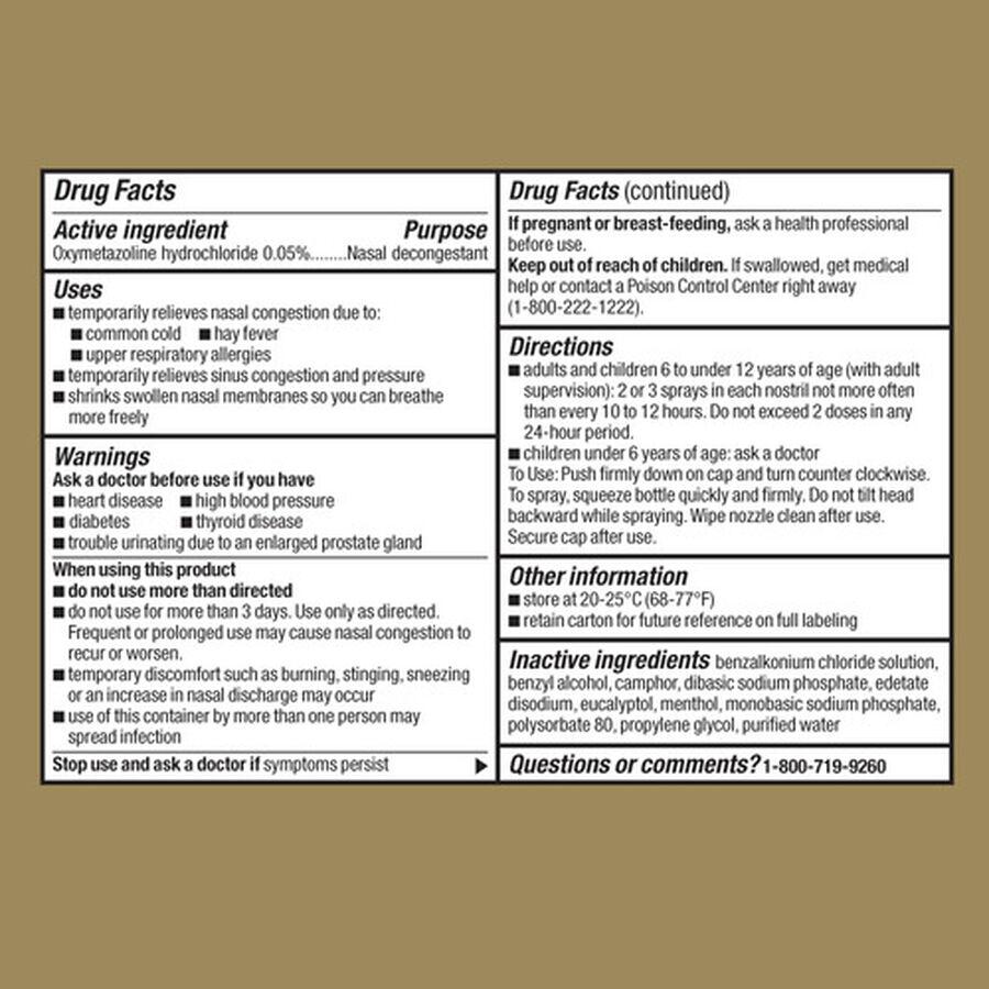 GoodSense® Nasal Spray Sinus 12 Hour 1 Oz, , large image number 2