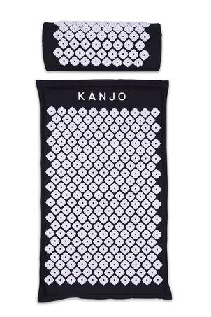 Kanjo Memory Acupressure Mat Set with Pillow, Onyx