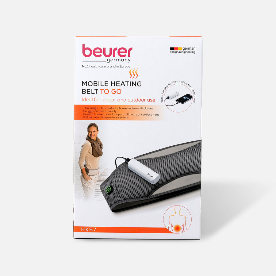 Beurer Mobile Wireless Heating Pad, , large image number 0
