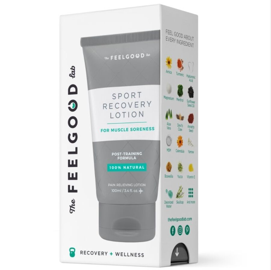 Sport Recovery Lotion, 3.4 oz, , large image number 0