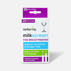 UpSpring Milkscreen Test for Alcohol in Breast Milk, 20 Pack