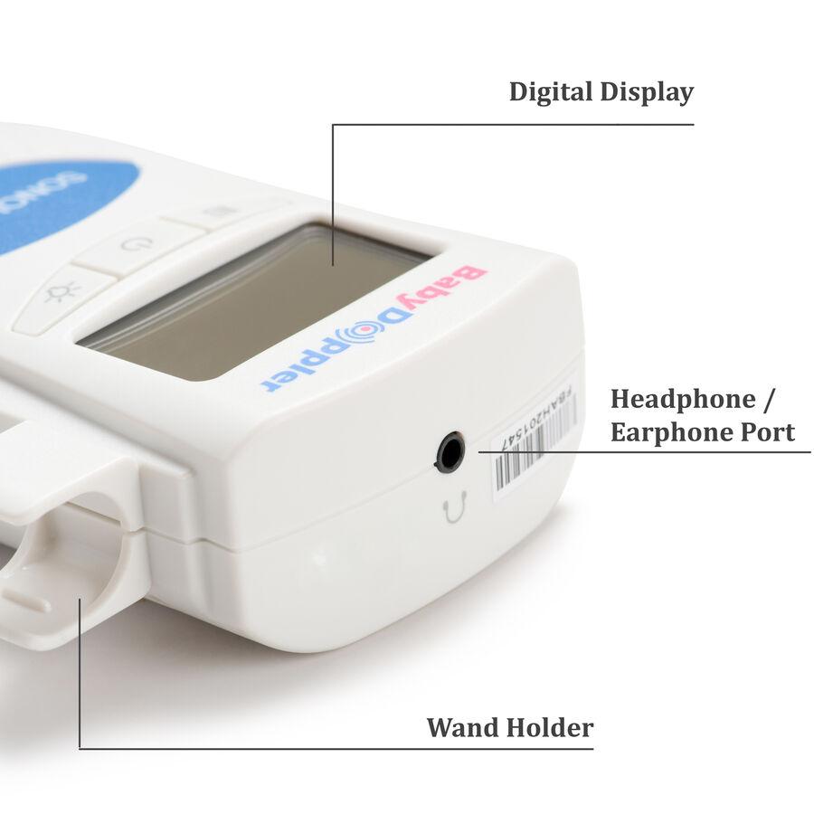 Baby Doppler Sonoline B Plus Water-Resistant Fetal Doppler, , large image number 9