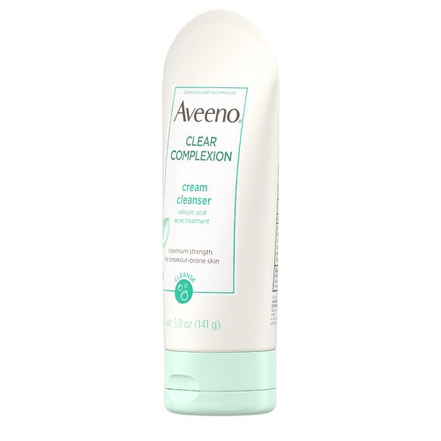 Aveeno Clear Complexion Cream Cleanser, 5oz., , large image number 5