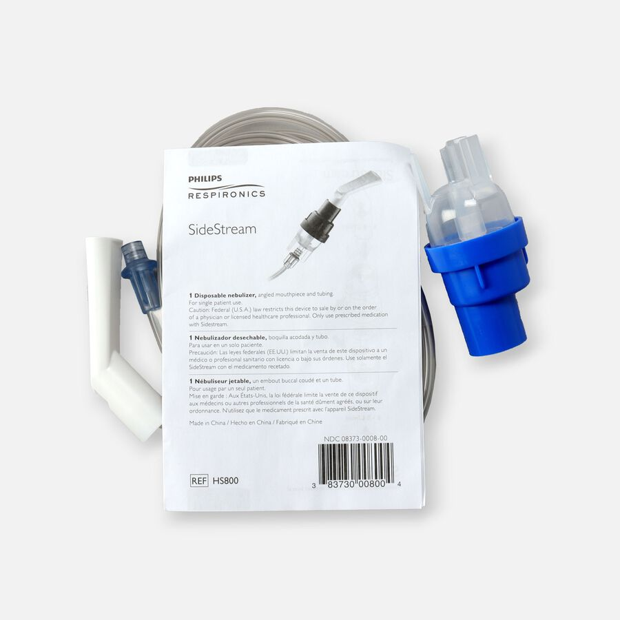 Respironics HS800 Disposable Sidestream Nebulizer Kit, , large image number 1