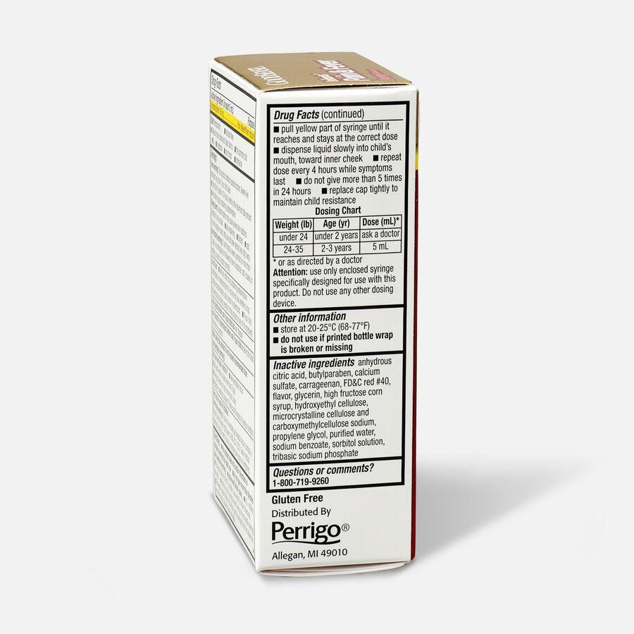 GoodSense® Infants' Pain & Fever Relief 160 mg, Cherry Flavor, 1 fl oz, , large image number 3