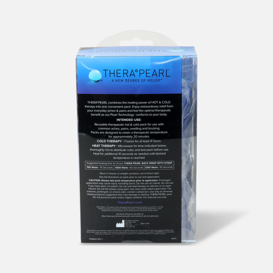 "TheraPearl Hot and Cold Back Wrap, 17"" x 6.75"", , large image number 2"