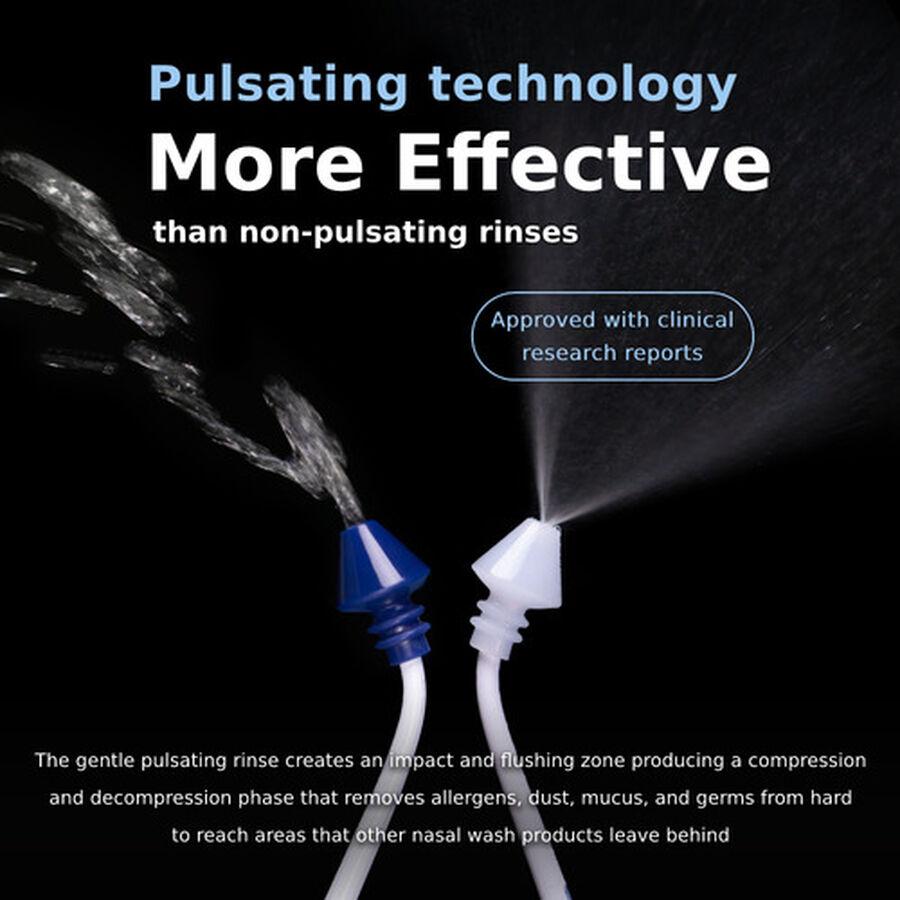 SinuPulse Elite, Advanced Nasal Sinus Irrigation System, Model SP100, , large image number 4