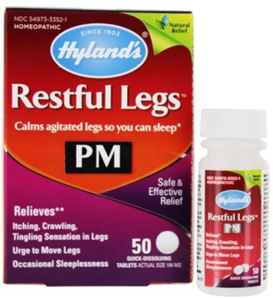Hyland's Restful Legs PM, 50 ct, , large image number 0