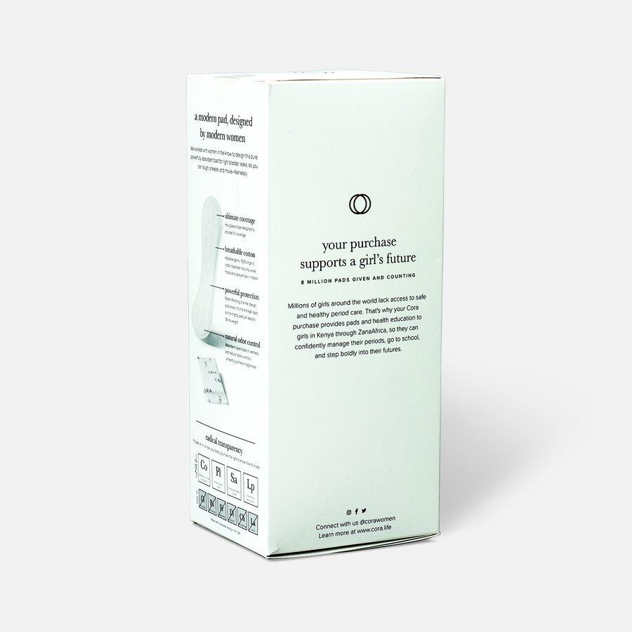 Cora Organic Cotton Ultra-Thin Bladder Pads, Regular, 30ct, , large image number 3