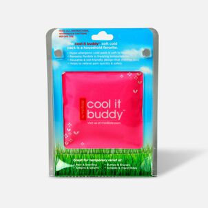Cool It Buddy Reusable Soft Cloth and Cold Pack