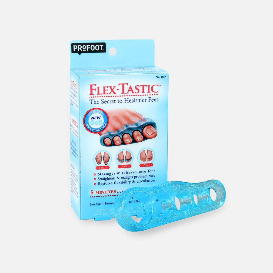 Profoot Care Flex-Tastic, Gel Toe Relaxers, , large image number 0