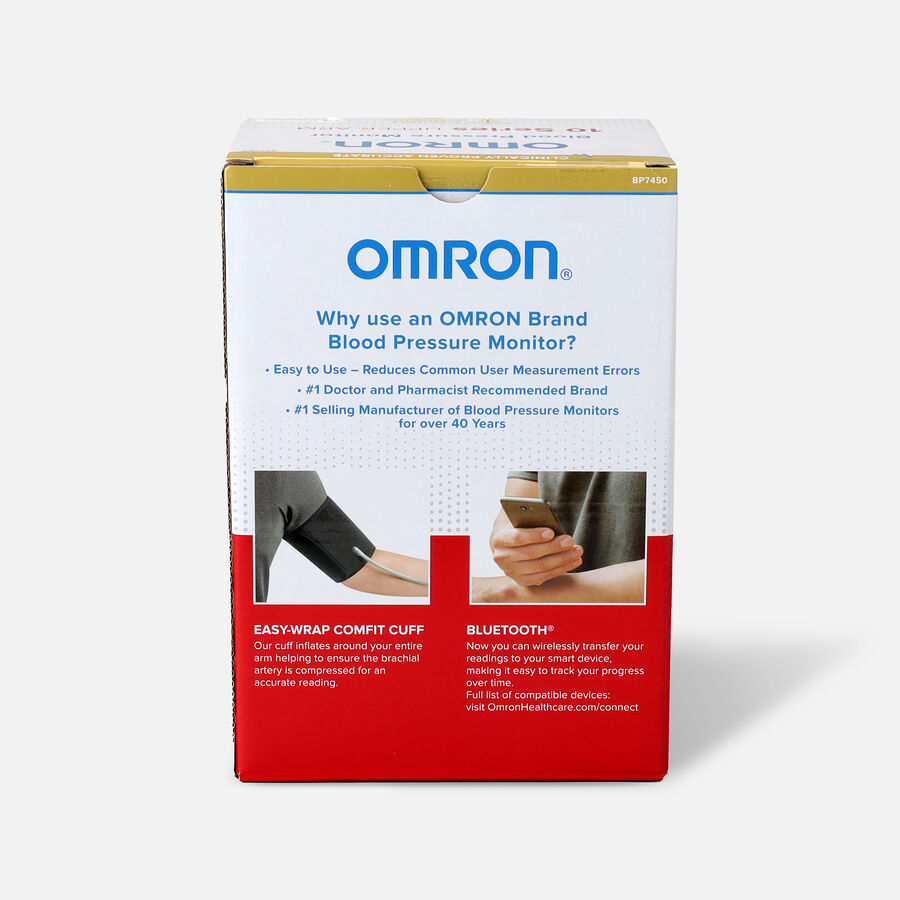 Omron 10 SERIES Advanced Accuracy Upper Arm Blood Pressure Monitor, , large image number 4