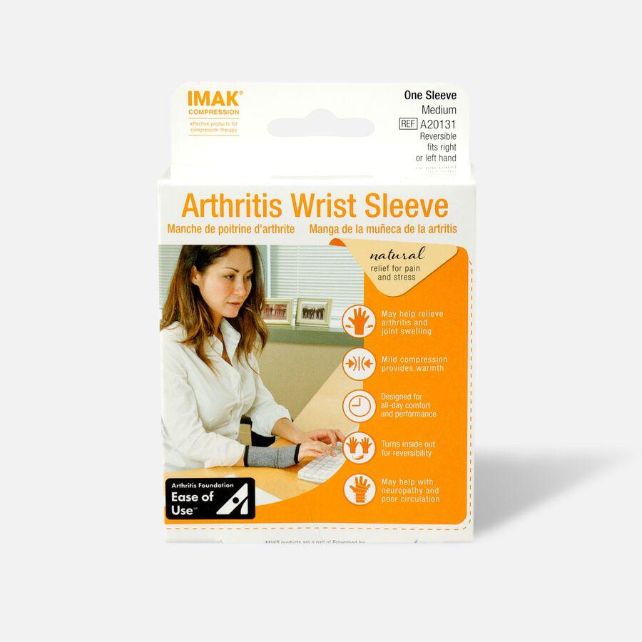 IMAK Compression Arthritis Wrist Sleeve, Medium, , large image number 0