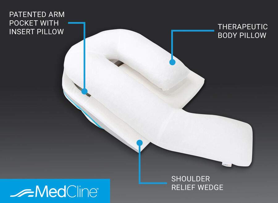 MedCline Shoulder Relief System + Extra Cases Bundle, One Size, , large image number 5
