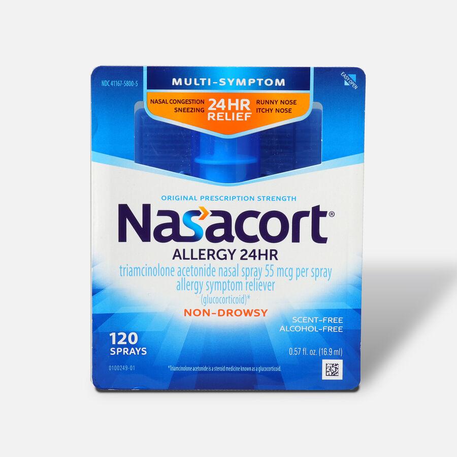 Nasacort .57 oz, 120 sprays, , large image number 0
