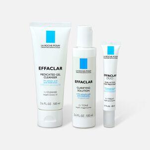La Roche-Posay Effaclar Dermatological 3-Step Acne Treatment System