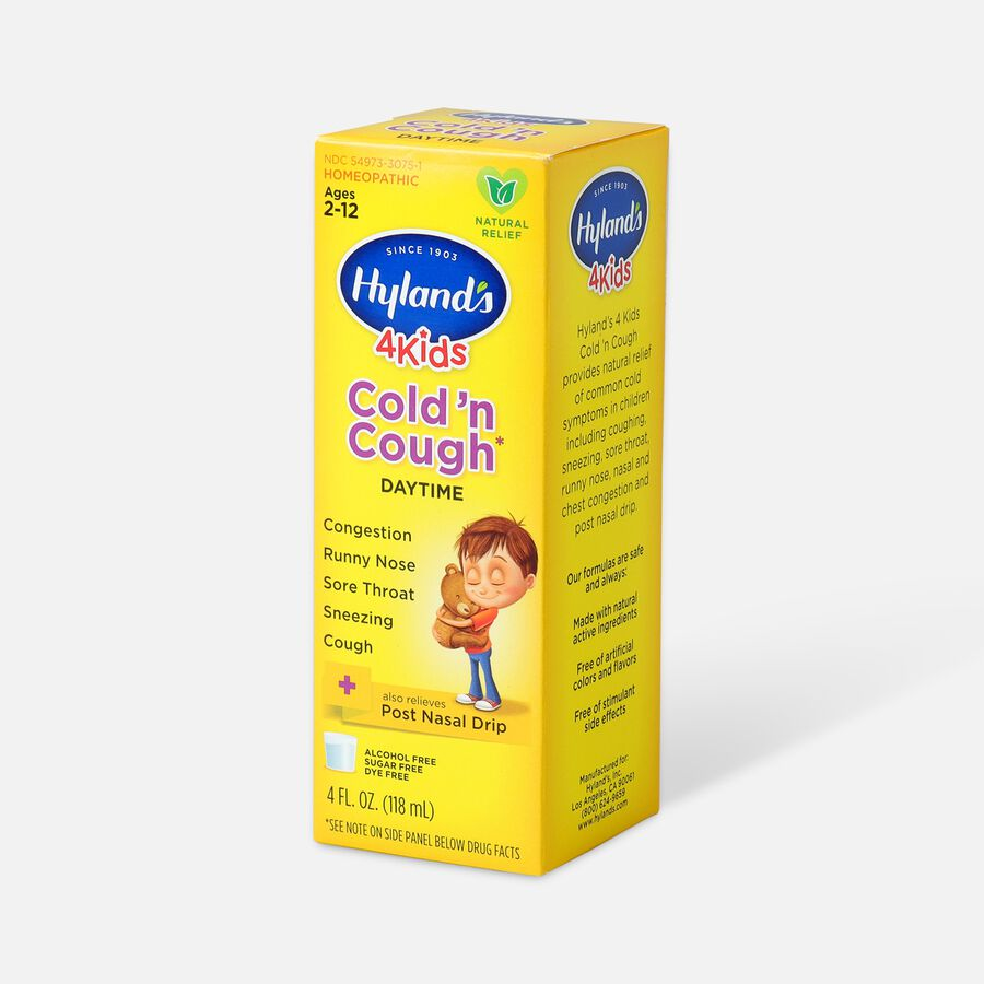 Hyland's 4 Kids Cold and Cough, 4 oz, , large image number 2