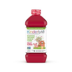 Kinderlyte Natural Oral Electrolyte Solution, Liquid, 33.8 fl. oz.