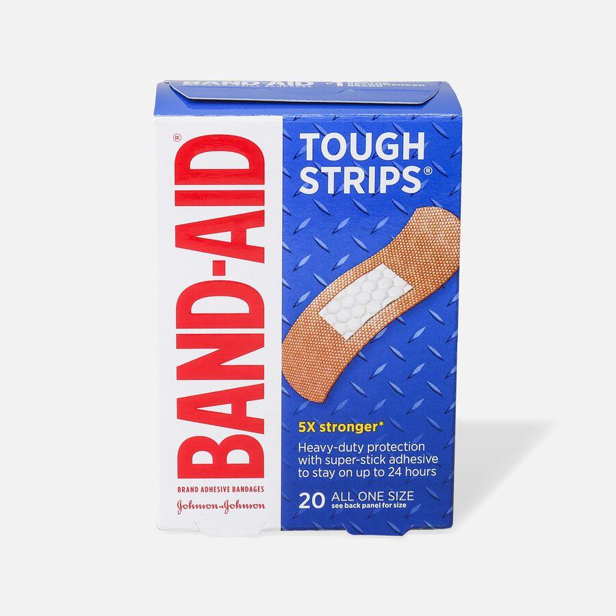 Band-Aid Tough Strips Adhesive Bandage, One Size - 20ct, , large image number 0