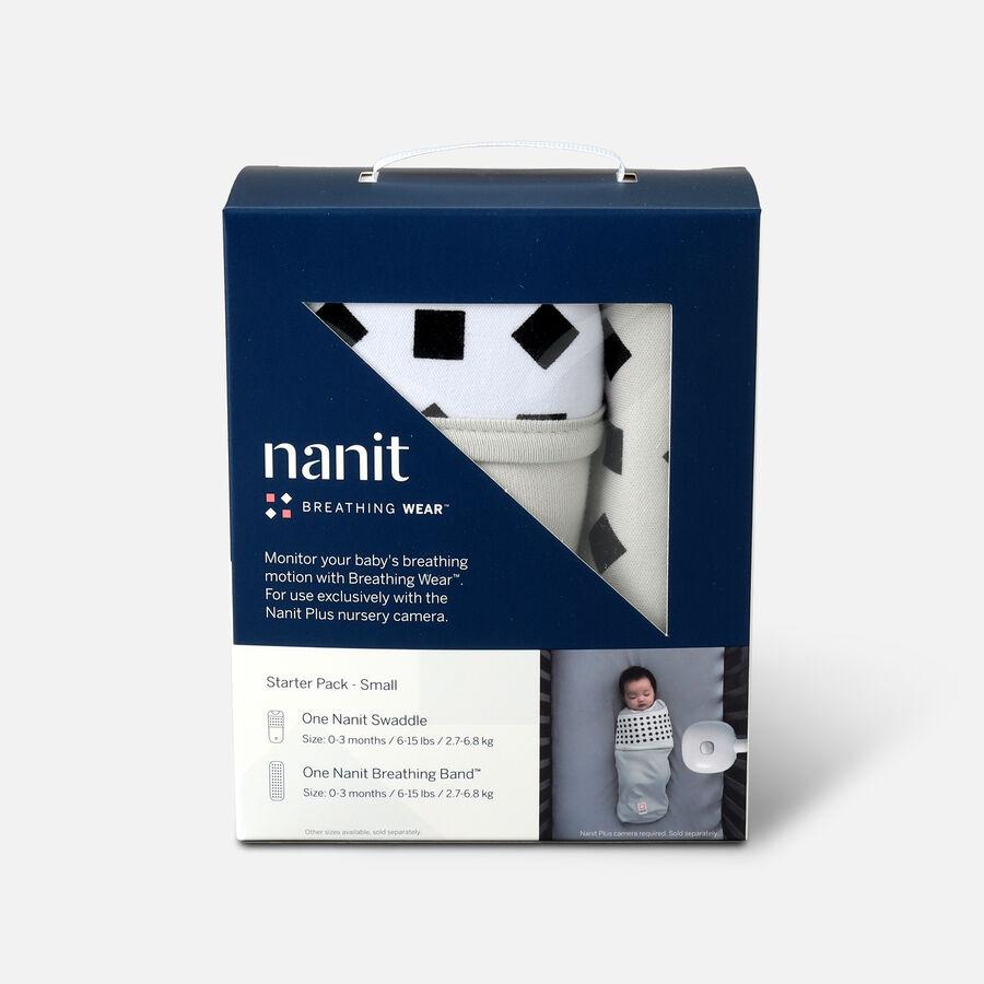 Nanit Breathing Wear Starter Set, Size Small, , large image number 0