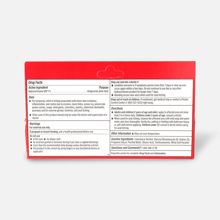 LEADER™ Hydrocortisone 1% Cream 1 oz, , large image number 1