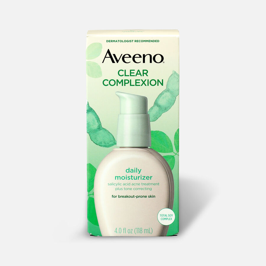 Aveeno Clear Complexion Face Moisturizer, 4oz, , large image number 2