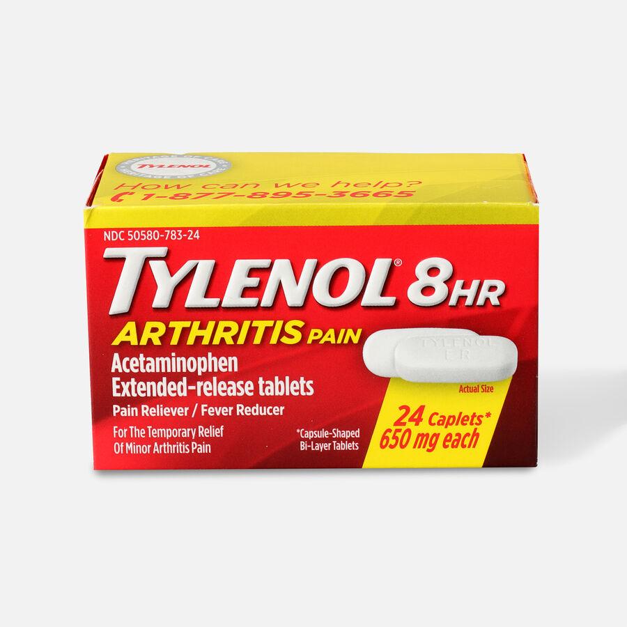 Tylenol 8HR Arthritis Pain Caplet, 24 ct, , large image number 0