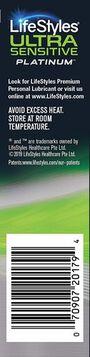 LifeStyles Ultra Sensitive Platinum Condoms, 12ct, , large image number 3