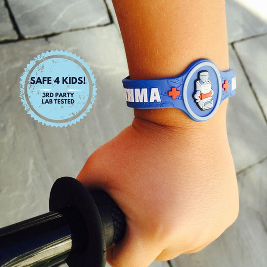 AllerMates Children's Allergy Alert Bracelet - Asthma, , large image number 4