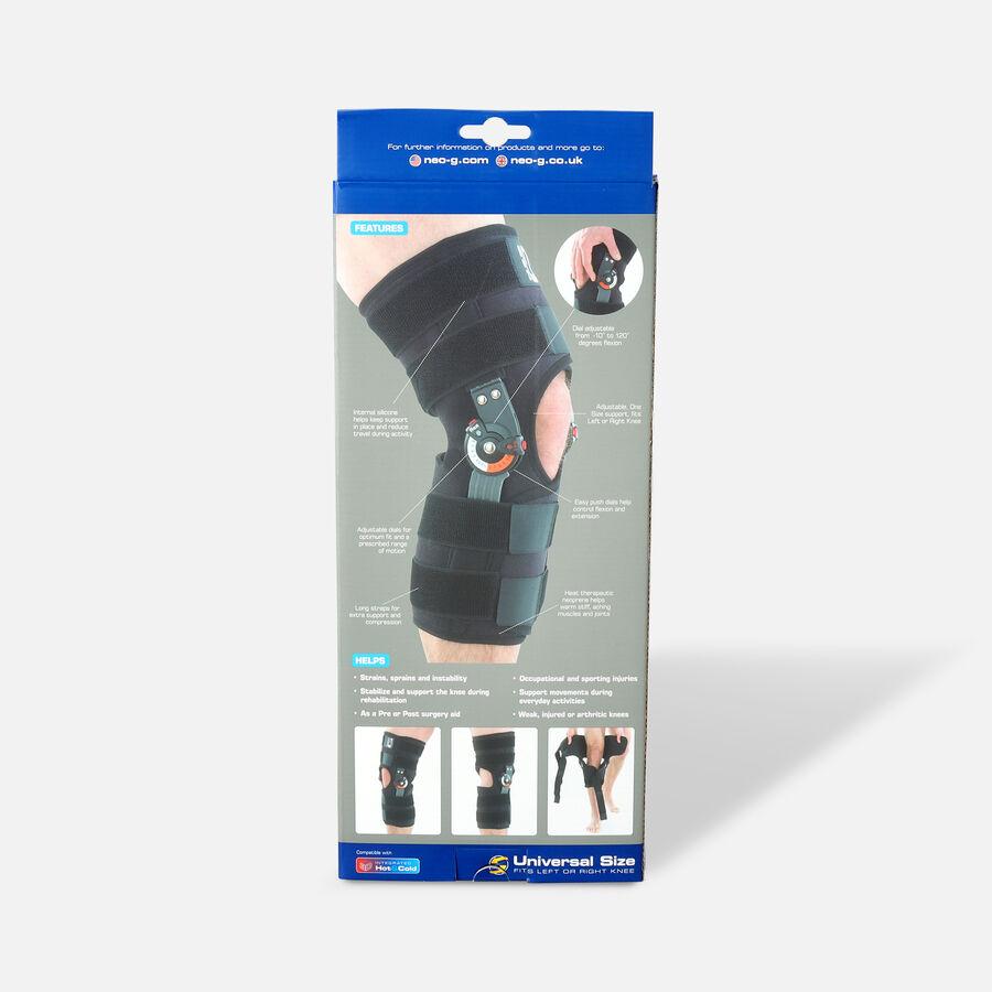 Neo G Adjusta Fit Hinged Open Knee Brace, One Size, , large image number 1