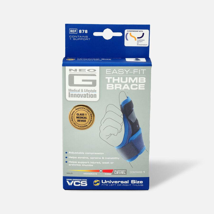 Neo G Easy-Fit Thumb Brace, One Size, , large image number 0