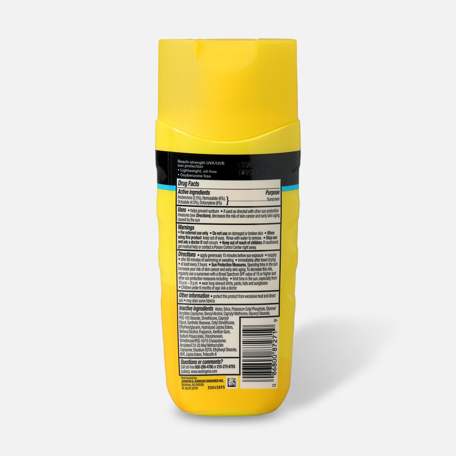 Neutrogena Beach Defense Sunscreen SPF 30 Lotion, 6.7 oz, , large image number 1
