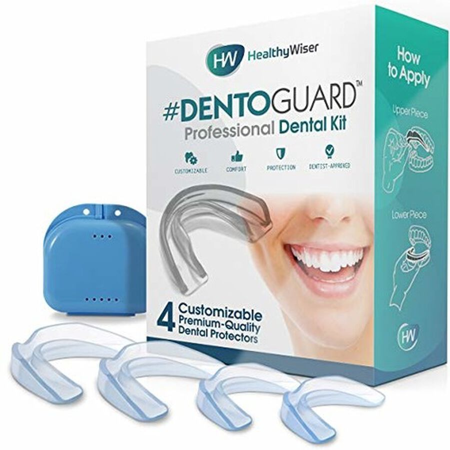 HealthyWiser DentoGuard Mouth Guard - 4ct, , large image number 3