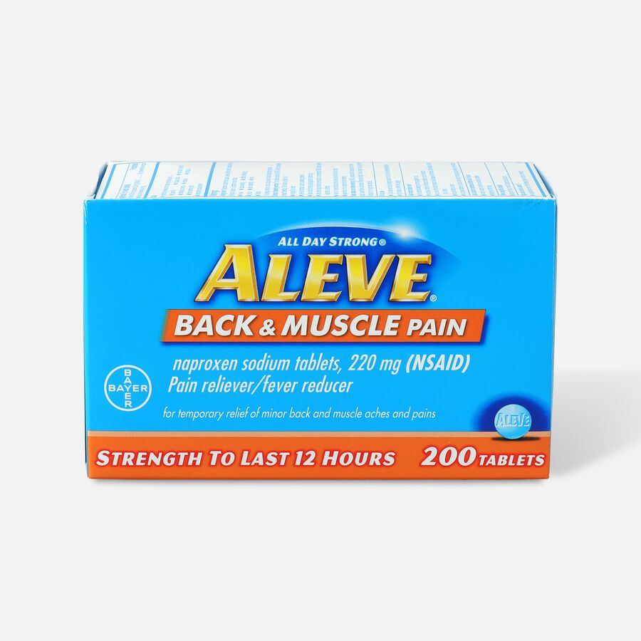 Aleve Back & Muscle Pain, 200ct, , large image number 0