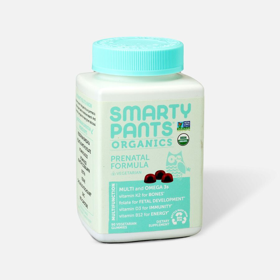 SmartyPants Organic Prenatal Gummy Vitamins, 90 ct, , large image number 2