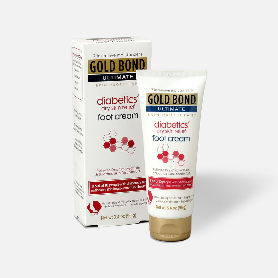 Gold Bond Ultra Relief Skin Protectant Diabetic Foot Cream, , large image number 2