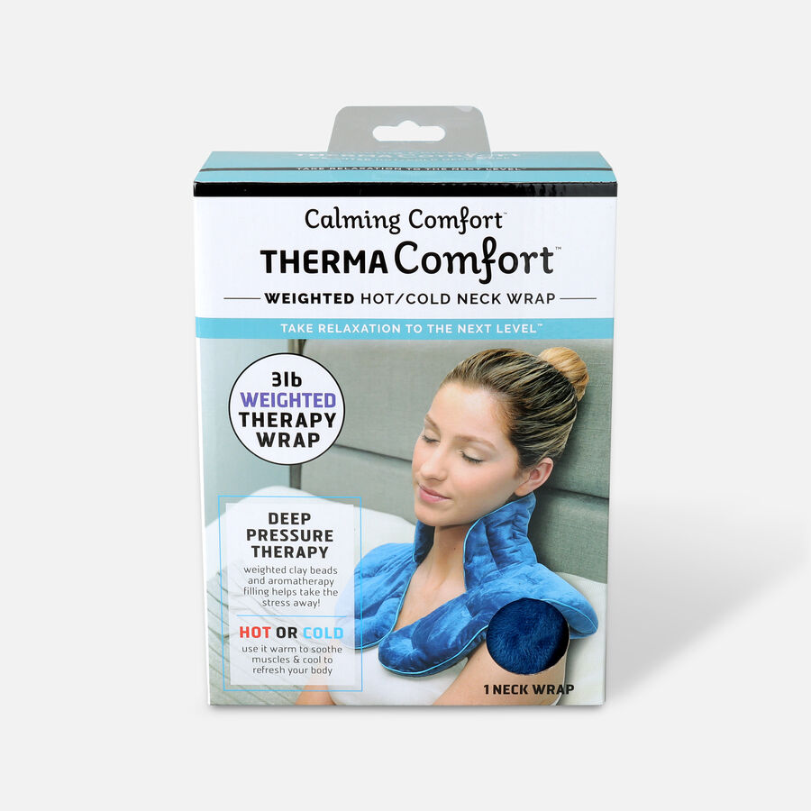 ThermaComfort™ 3 lb. Weighted Hot/Cold Neck Wrap, , large image number 0