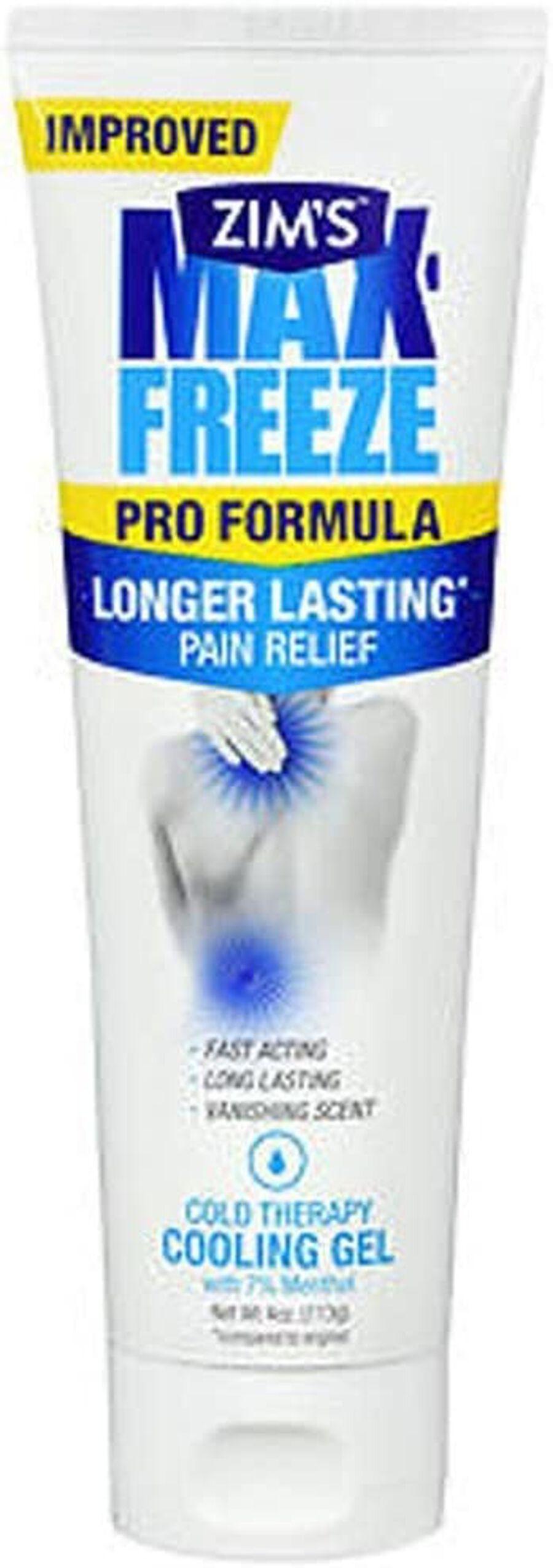 Zim's Max Freeze Pro Formula Gel, 4 oz, , large image number 0