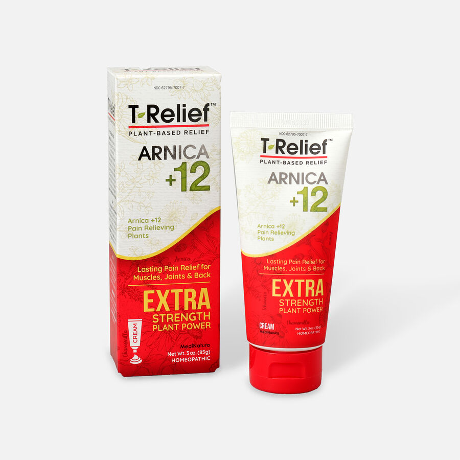 T-Relief Extra Strength Pain Cream, 3 oz, , large image number 2