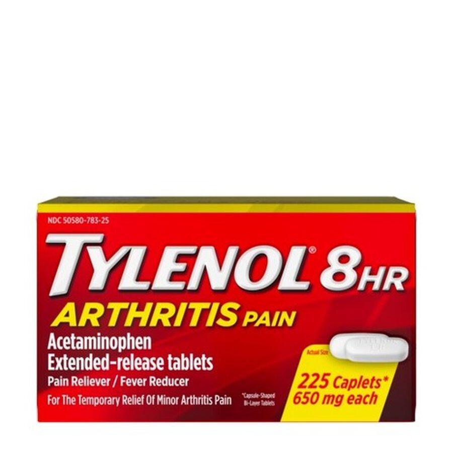Tylenol 8HR Arthritis Pain Caplet, 225 ct, , large image number 0
